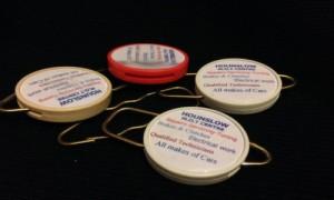 Round Plastic Keyrings